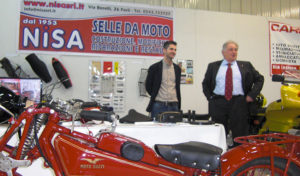 Nisa in fiera a Forlì con Moto Guzzi Club - nisasrl.it